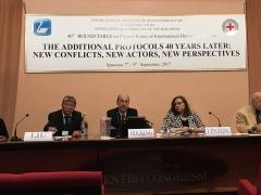 Pendant le débat consacré à la contribution du TPIY au droit international humanitaire