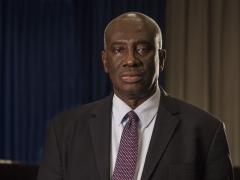 Justice Hassan B. Jallow, Président de la Cour suprême de Gambie
