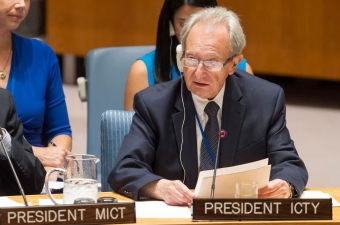 Le Président du TPIY, Carmel Agius