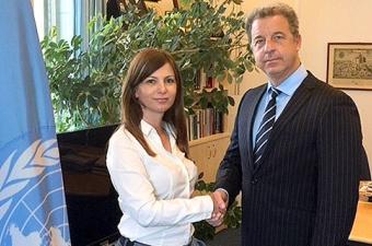 Tužilac MKSJ/MMKS Serge Brammertz sa tužiocem za ratne zločine Srbije Snežanom Stanojković