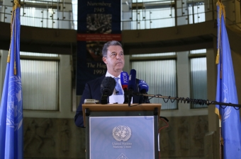 Serge Brammertz, Chief Prosecutor of the International Criminal Tribunal for the former Yugoslavia