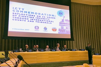 #ICTY24: Commemoration held at United Nations Headquarters