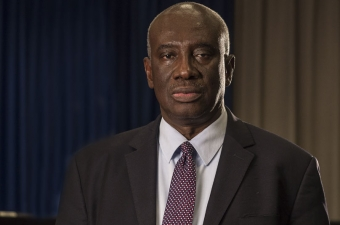 Sudija Hassan B. Jallow, predsjednik Vrhovnog suda Gambije