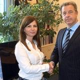 Le Procureur Serge Brammertz (TPIY et MTPI) avec le Procureur serbe chargé des crimes de guerre Snežana Stanojković