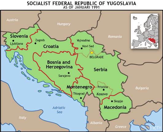 Image result for former yugoslavia