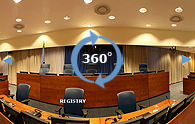 Virtual tour of Courtroom 1.